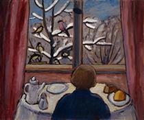 Breakfast of the Birds - Gabriele Munter