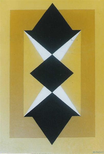 Incavo Plastico, 1973 - Galliano Mazzon