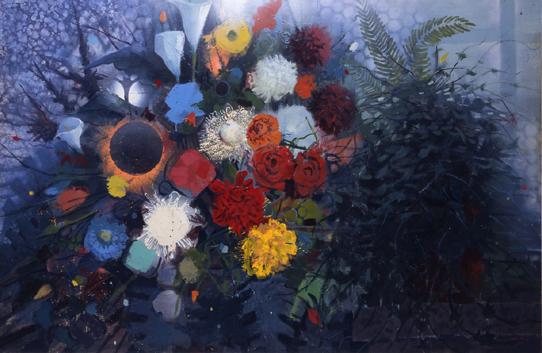 Flowers No. 1, 1975 - Gebre Kristos Desta