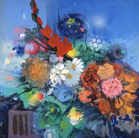 Flowers No. 2, 1974 - Gebre Kristos Desta
