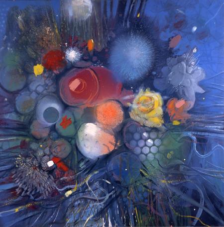 Flowers No. 3, 1974 - Gebre Kristos Desta