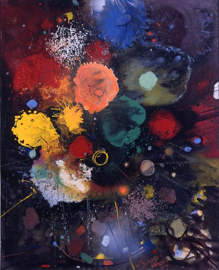 Flowers No. 5, 1975 - Gebre Kristos Desta
