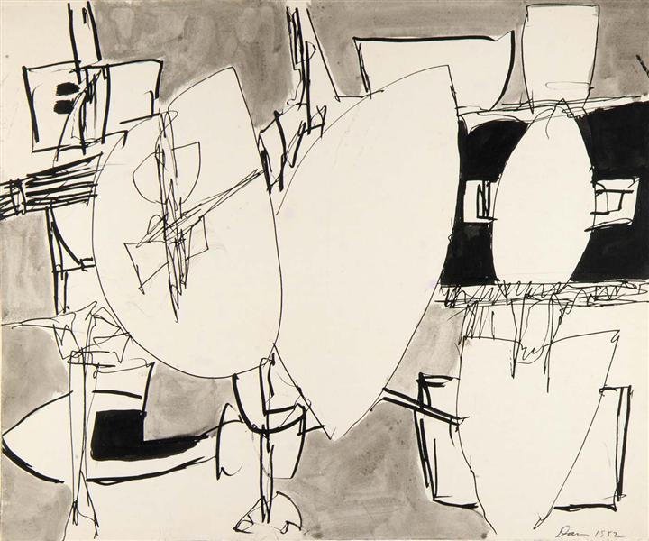 Inner Space, 1952 - Gene Davis