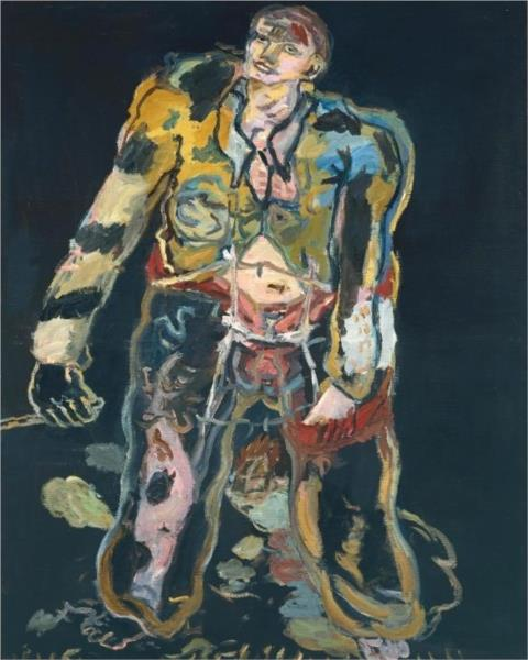 Rebel, 1965 - Georg Baselitz