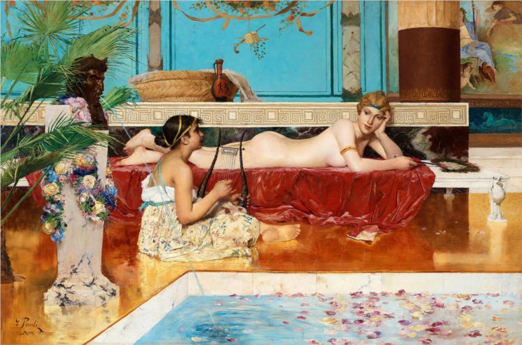 Roman Bath, 1882 - Georg Pauli