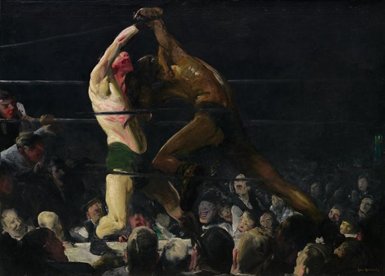 Both Members of This Club, 1909 - George Bellows