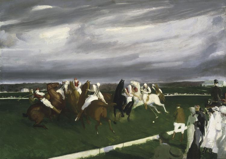 Polo at Lakewood - George Bellows