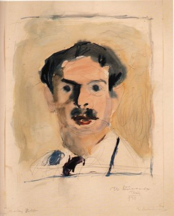 Portrait of a young man, 1930 - George Bouzianis