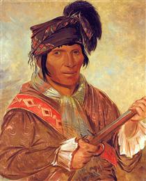 Co-ee-há-jo, a Seminole Chief - Джордж Кетлін
