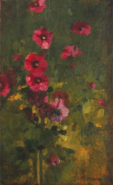 Floral Panel - George Demetrescu Mirea