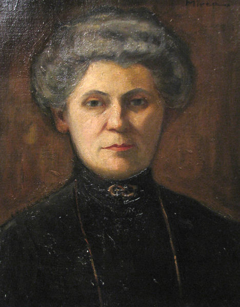 Woman Potrait - George Demetrescu Mirea