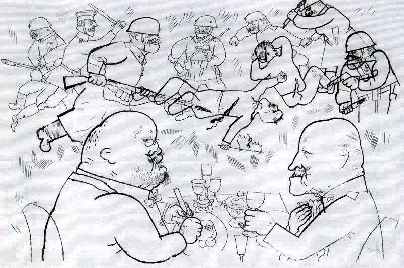 http://uploads7.wikipaintings.org/images/george-grosz/the-celebration.jpg