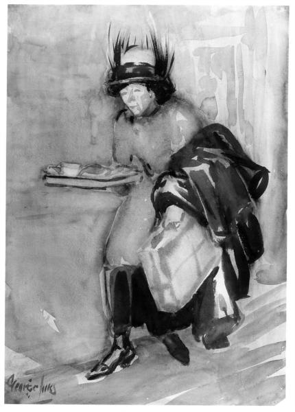 The One Armed Lunch, 1920 - George Luks