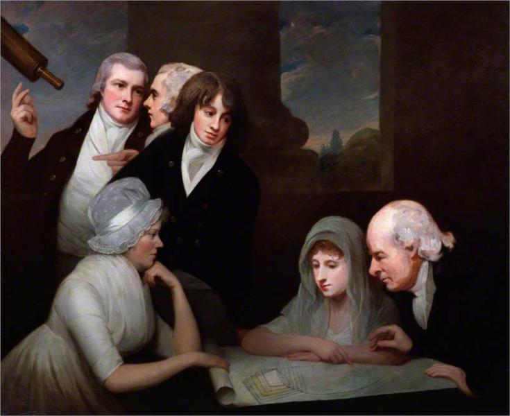 Adam Walker and his family, 1801 - George Romney