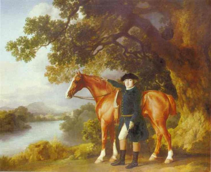 Portrait of a Huntsman, 1768 - George Stubbs