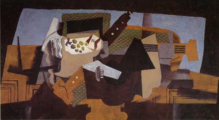 A Black Pedestal, 1919 - Georges Braque