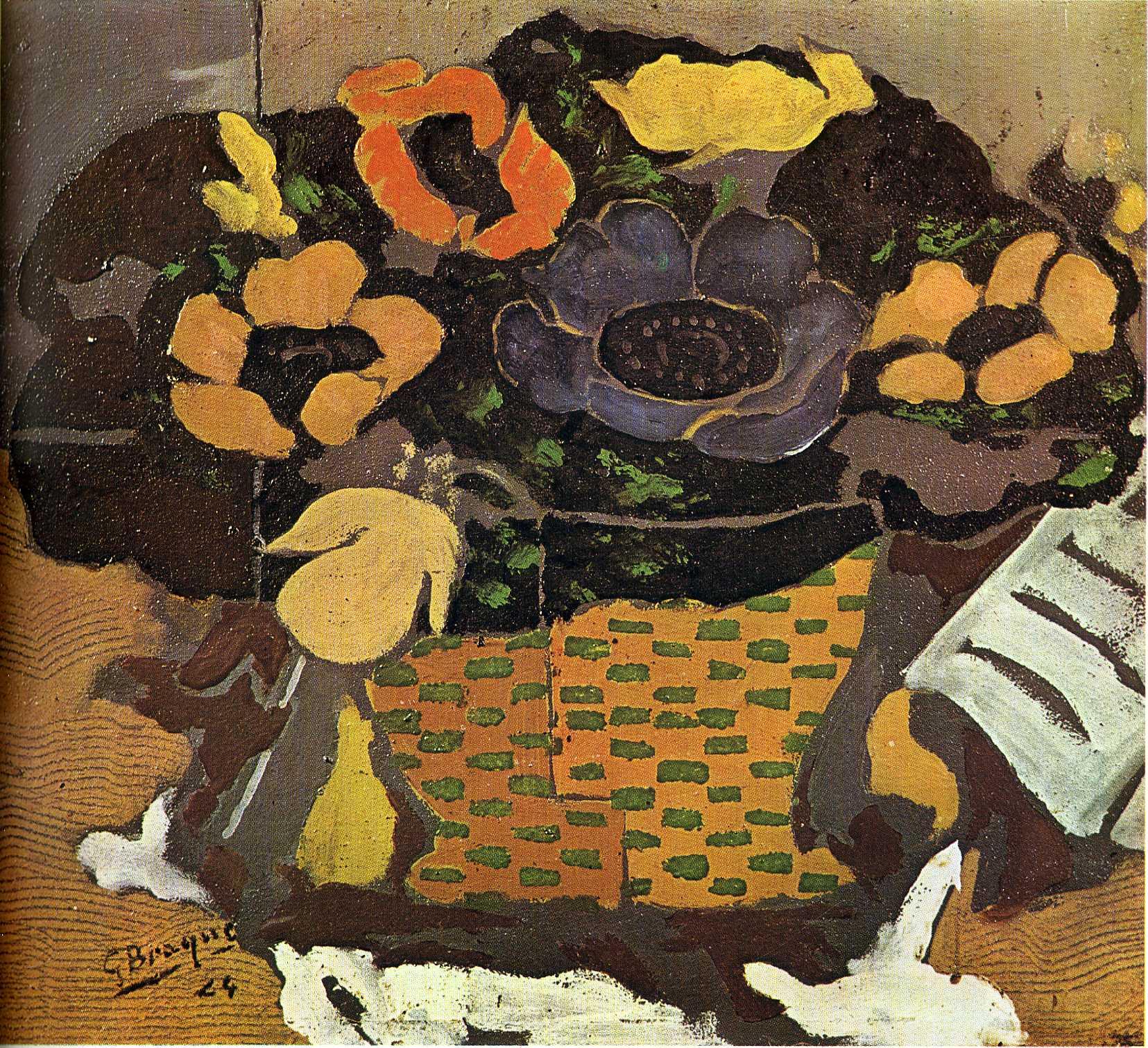 Anemones, 1924