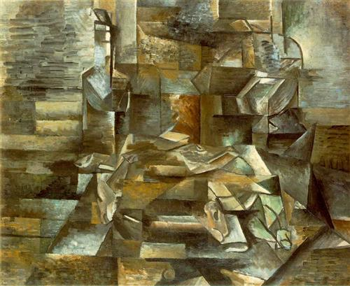 Bottle and Fishes - Georges Braque