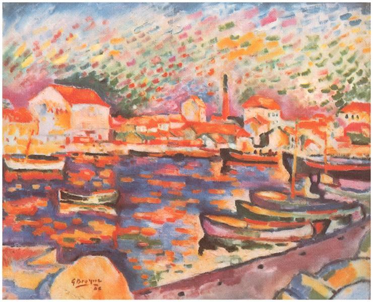 La Ciotat Harbor, 1906 - Georges Braque