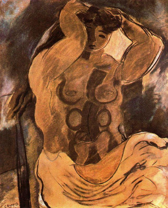 Nude, 1908