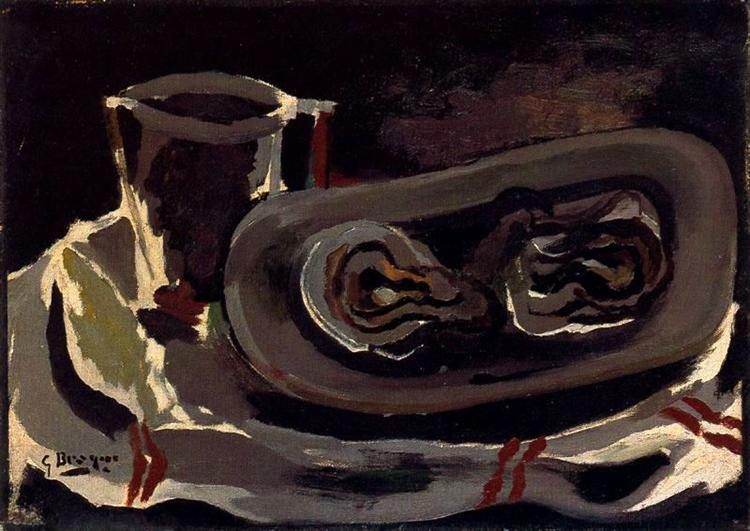 Oysters, 1950 - Georges Braque