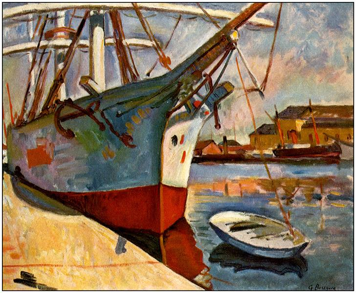Ship at Le Havre, 1905 - Georges Braque