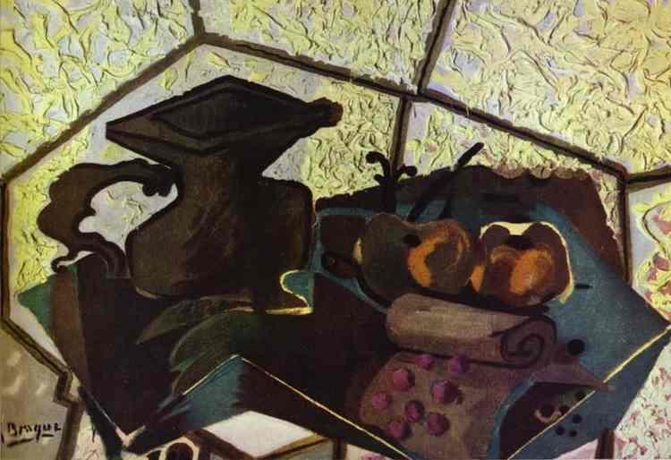 The Green Napkin, 1943 - Georges Braque