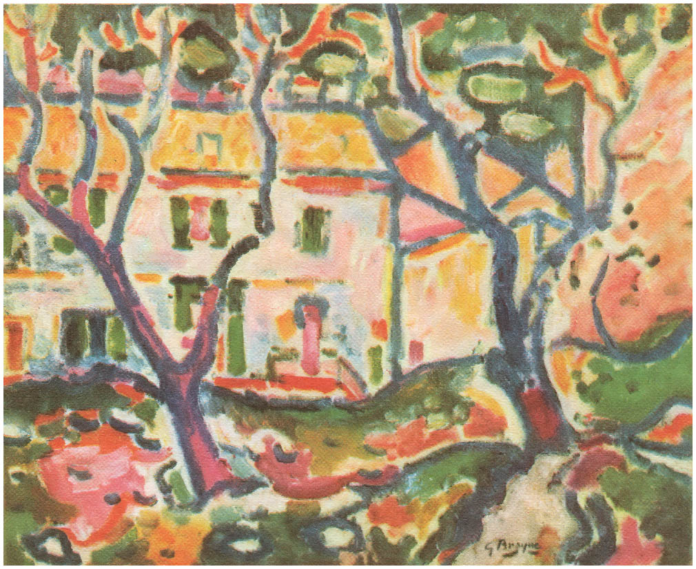 The House Behind the Trees, 1906