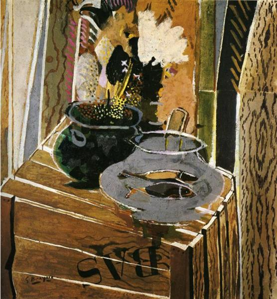 The Packing Case, 1947 - Georges Braque