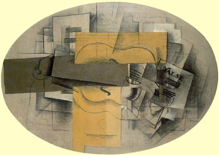 The Violin Valse, 1913 - Georges Braque