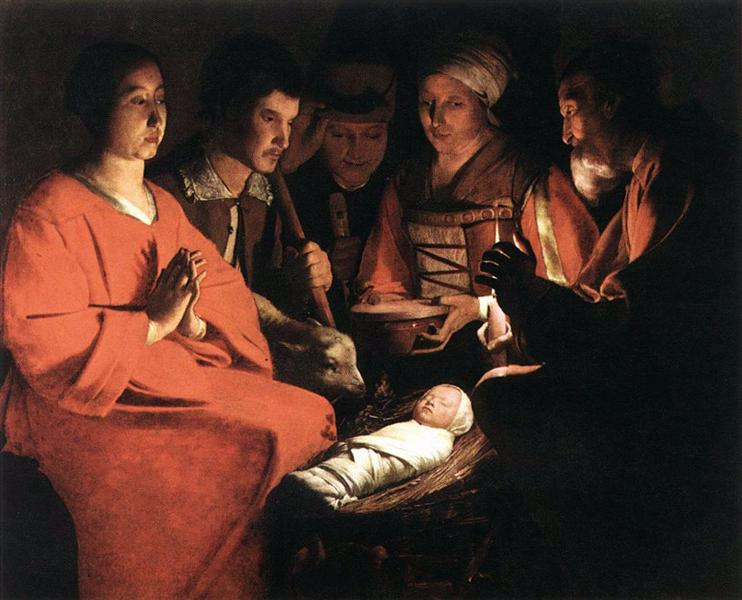 Adoration of the Shepherds, c.1644 - Georges de la Tour