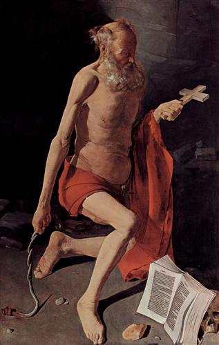 St. Jerome - Georges de la Tour