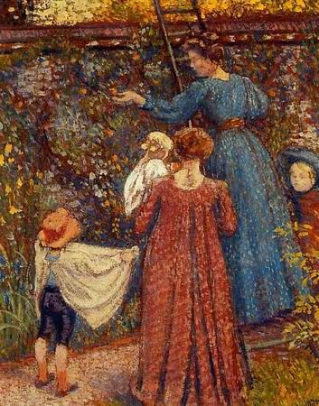 Picking Fruit - Georges Lemmen