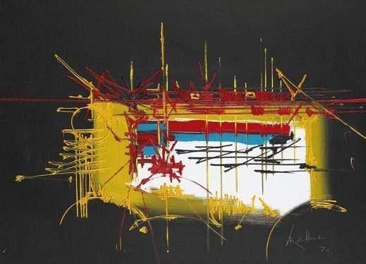 Vossius, 1970 - Georges Mathieu