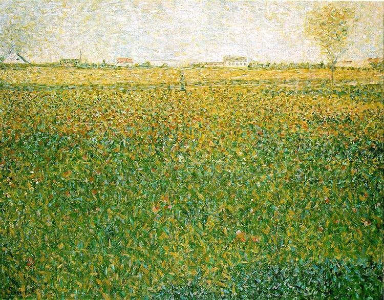 Alfalfa, St. Denis, 1885 - 1886 - Georges Seurat
