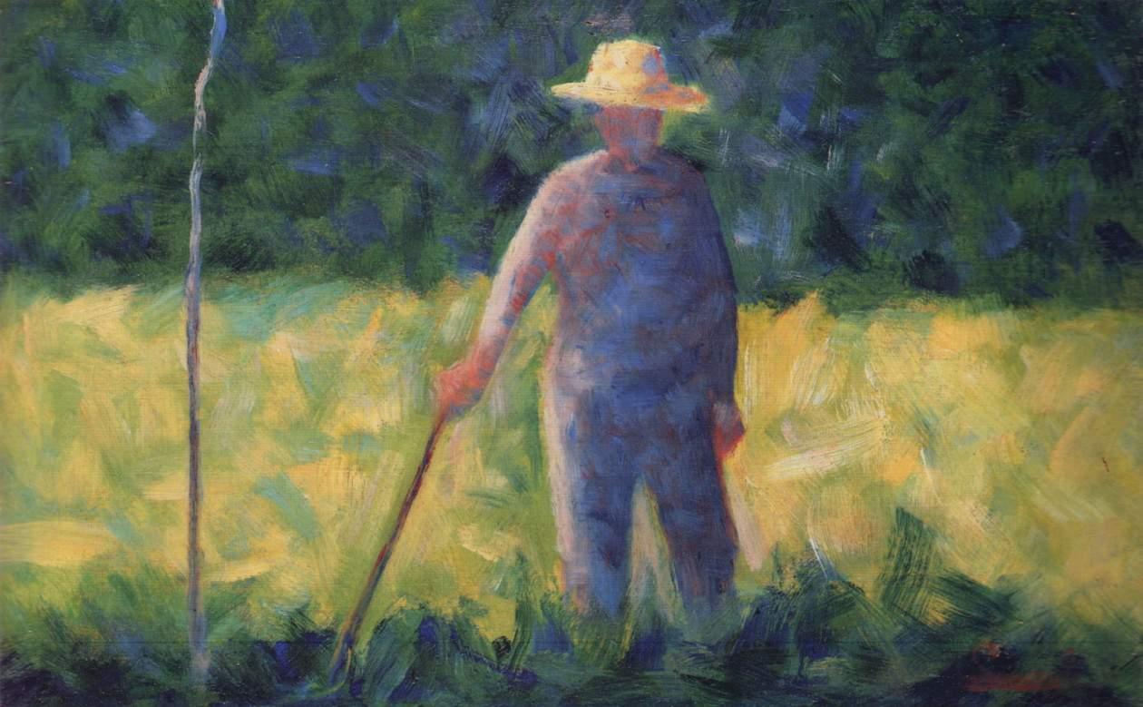 gardener 1882 georges seurat