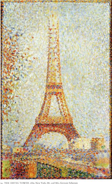 The Eiffel Tower - Seurat Georges