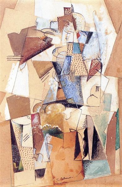 Figure, 1918 - Georges Valmier