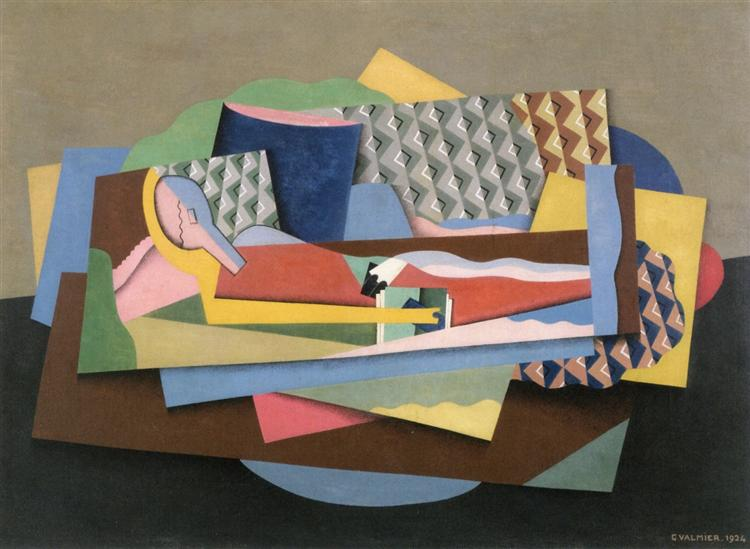 Reclining Woman, 1924 - Georges Valmier