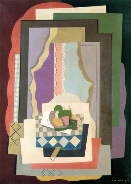 Still Life in front of the Window - Georges Valmier