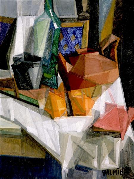 Still Life No. 3, 1911 - Georges Valmier