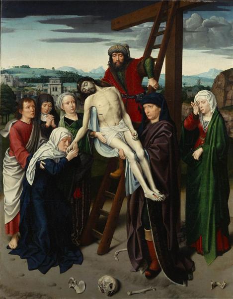 The Deposition, c.1495 - c.1515 - Gerard David