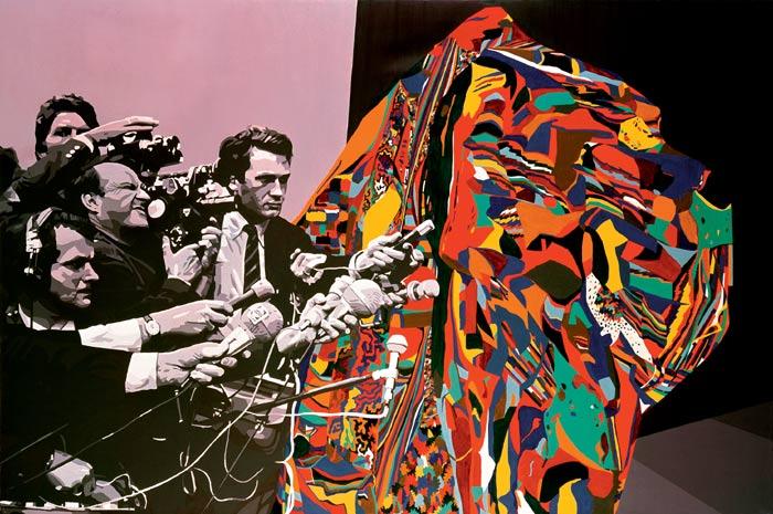 Existe, 1976 - Gérard Fromanger