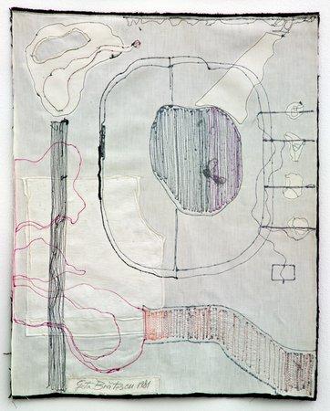 Medeic Callisthetic Moves I, 1981 - Geta Bratescu