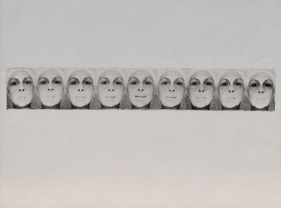 The Smile, 1978 - Geta Bratescu