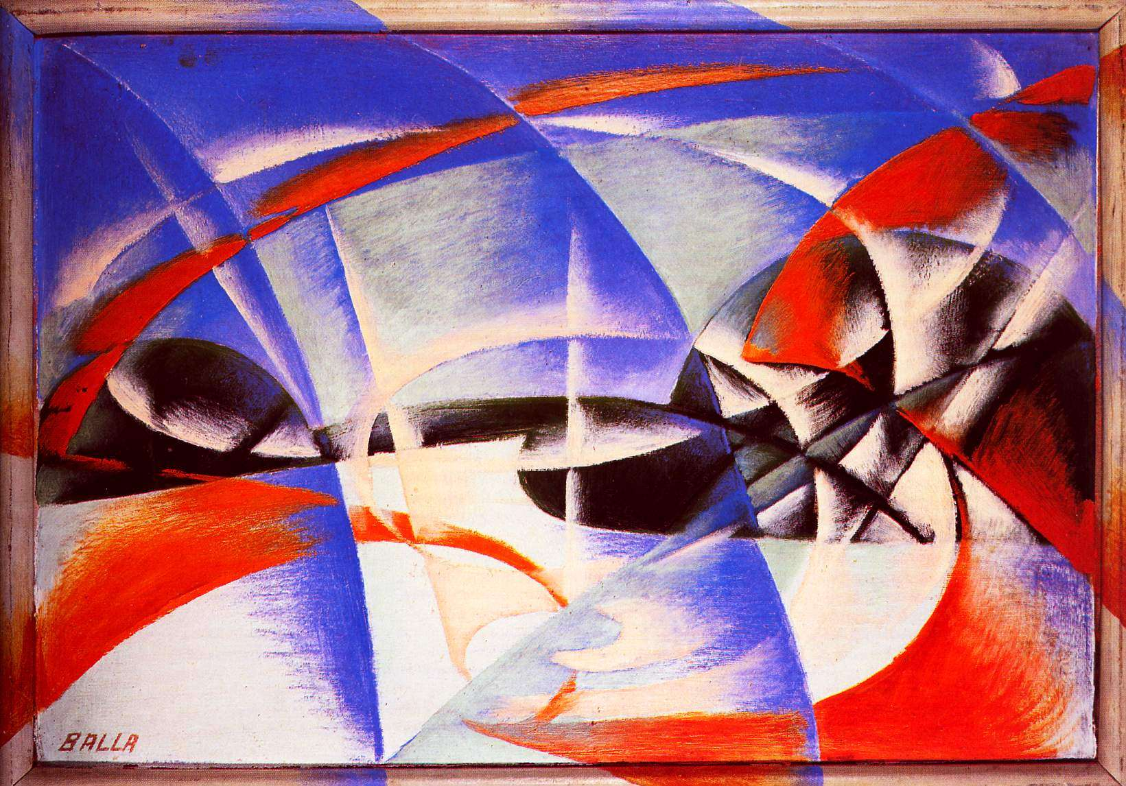 Motion In Art Giacomo Balla Light Movement And Speed