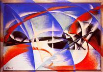 Landscape - Giacomo Balla