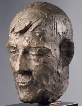 Portrait of Oskar Kokoschka, 1960 - Giacomo Manzu