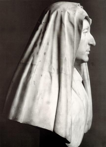 Bust of Camilla Barberini nee Barbadori, c.1618 - Gian Lorenzo Bernini