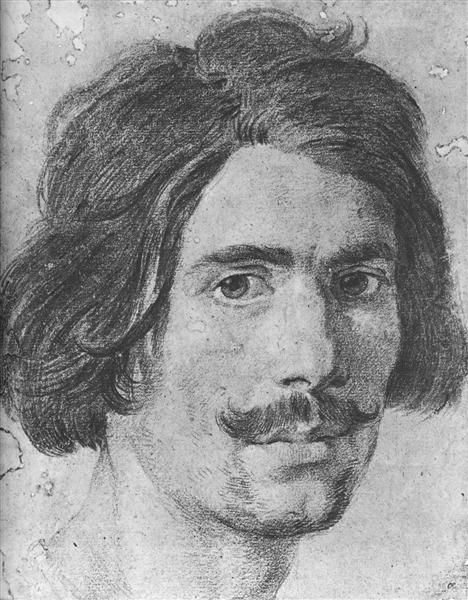 Portrait of a Man with a Moustache (Supposed Self Portrait), c.1630 - Gian Lorenzo Bernini